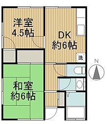 松下ハウス[1階]の間取り