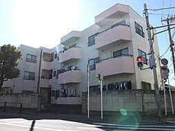 千葉県市川市菅野2丁目の賃貸マンションの外観