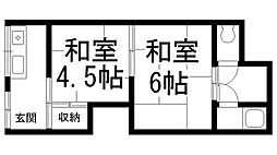 池田1丁目大崎文化[0101号室]の間取り