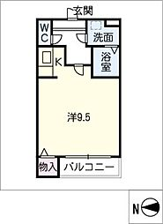Casa de Oro[3階]の間取り