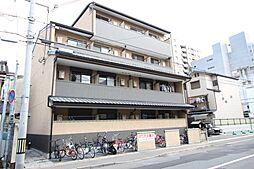 フラッティ堀川高辻[402号室号室]の外観