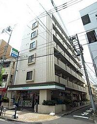東京都台東区根岸2丁目の賃貸マンションの外観