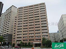 滋賀県大津市におの浜2丁目の賃貸マンションの外観