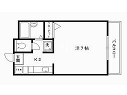 ラトゥール石龍[3階]の間取り