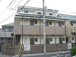 東京都世田谷区上北沢1丁目の賃貸アパートの外観
