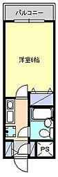 クリオ藤沢本町壱番館[2階]の間取り