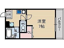 セカンドプレイス[3階]の間取り