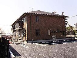 ローズコート山崎[1階]の外観