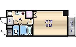 villa kei[4階]の間取り