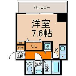 M'sHouse1(エムズハウス1)[6階]の間取り