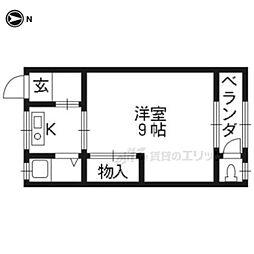 三室戸駅 3.7万円