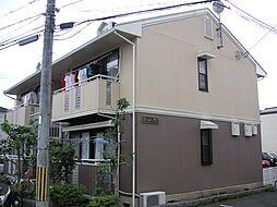 京都府京都市西京区上桂北ノ口町の賃貸アパートの外観