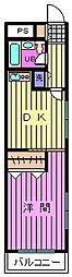 ワコーレエレガンス指扇[1階]の間取り