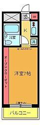 エルスタンザ亀有[603号室]の間取り