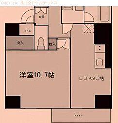 東京都荒川区町屋の賃貸マンションの間取り