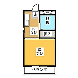 メゾン上野[2階]の間取り