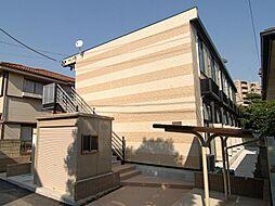 埼玉県川口市本町1丁目の賃貸アパートの外観