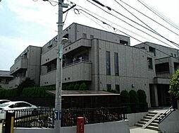 東京都目黒区柿の木坂1丁目の賃貸マンションの外観