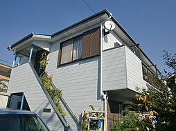東京都府中市若松町2丁目の賃貸アパートの外観