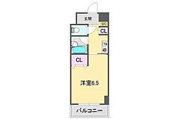 ブランベール甲東園[4階]の間取り