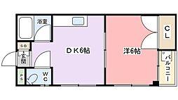 門真エスチュアリーハウス[4階]の間取り