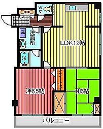 メゾンコーセイ[3階]の間取り