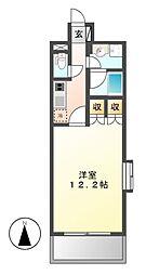 グラン・アベニュー 名駅[13階]の間取り