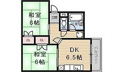 ハウスS&Y[206号室号室]の間取り