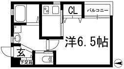 栄町日進ビル[2階]の間取り