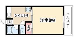 第2高重ビル[305号室]の間取り
