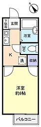 シュトラーゼハイム[2階]の間取り