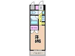 愛媛県松山市天山1丁目の賃貸マンションの間取り