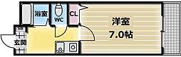 NAO三ノ瀬[301号室]の間取り
