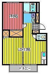 トーアハイツ[2階]の間取り