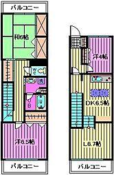 レジデンス浦和[3階]の間取り
