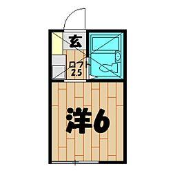 ジョイフルオークラ NO.36[203号室]の間取り