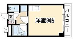 名東コーポ[206号室]の間取り