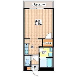 大阪府大阪市平野区加美東6丁目の賃貸マンションの間取り