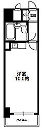マイルド新大阪レジデンス[3階]の間取り