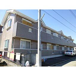 神奈川県小田原市北ノ窪の賃貸アパートの外観