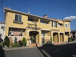 大阪府岸和田市田治米町の賃貸アパートの外観