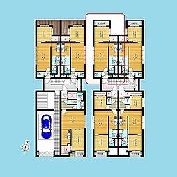 札幌市営南北線 北12条駅 徒歩2分の賃貸マンション 3階1LDKの間取り