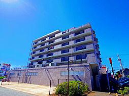 東京都東久留米市前沢3丁目の賃貸マンションの外観