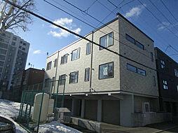 北海道札幌市東区北三十六条東18丁目の賃貸アパートの外観