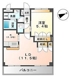 千葉県市原市ちはら台東8丁目の賃貸アパートの間取り