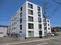 北海道札幌市豊平区月寒西四条5丁目の賃貸マンションの外観