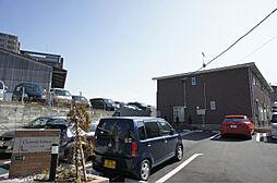 福岡県糟屋郡粕屋町大字戸原の賃貸アパートの外観