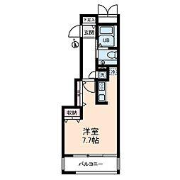 トリニティコート[2階]の間取り