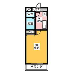 A・City岡崎矢作[3階]の間取り