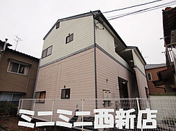 福岡県福岡市早良区田隈3丁目の賃貸アパートの外観